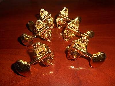 Gretsch G5400 Electromatic 3x3 Tuning Keys (6) - GOLD, 009-6600-000