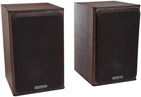 Monitor Audio Bronze Series 1 2 Way Bookshelf Speakers – Walnut