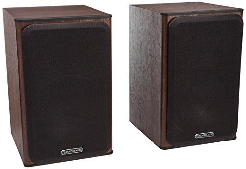 Monitor Audio Bronze Series 1 2 Way Bookshelf Speakers - Walnut