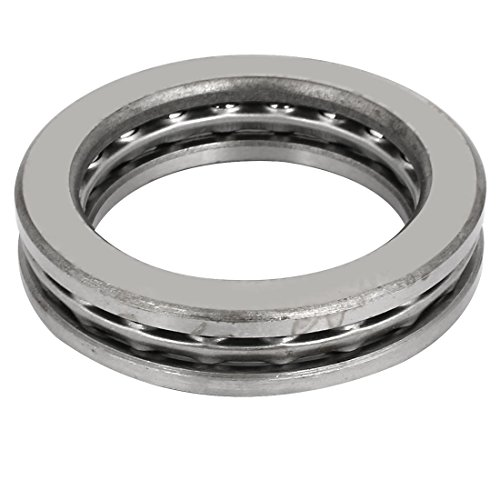Race Grooved - Aexit Grooved Race Transmission Parts Thrust Ball Bearing 65mmx45mmx15mm Gray Model:33as100qo244