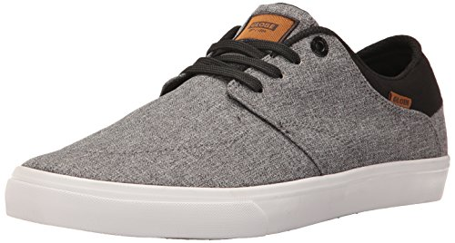 Globe Men's Chase Skateboarding Shoe, Grey Chambray, 8 M US