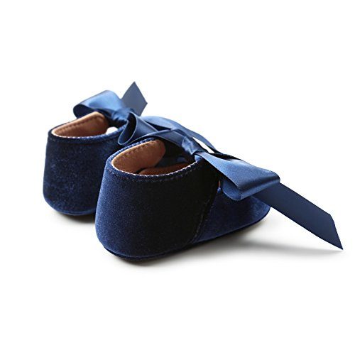 0e2dedf76c094 Minuya Chaussures Bébé Fille,Semelle Souple Antidérapant Chaussures  Premiers Pas Bébé Fille ...