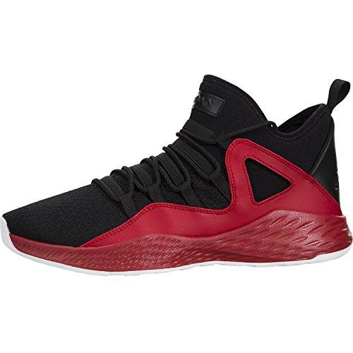 Jordan Formula 23 BG BLACK BLACK GYM RED WHITE Size 5.5Y 0195701065