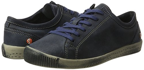 navy Washed Blau Trainers Softinos Women''s Isla qRxEPwXXv