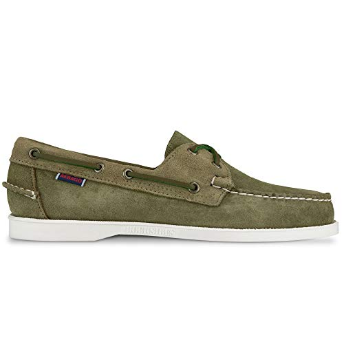 Sebago Luxury Fashion Mens 7002TY0909 Green Loafers | Spring Summer 20