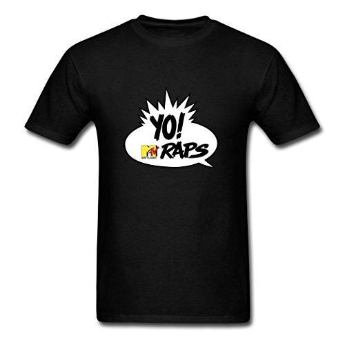adults-popular-fashion-yo-mtv-raps-logo-t-shirts-l