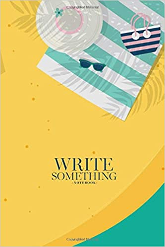 Amazon com: Notebook - Write something: Women relaxing at the beach