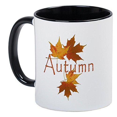 CafePress - Autumn Leaves - Unique Coffee Mug, Coffee Cup
