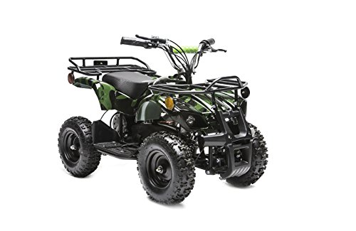 Rosso Motors Kids ATV Kids Quad 4 Wheeler Ride On Utility