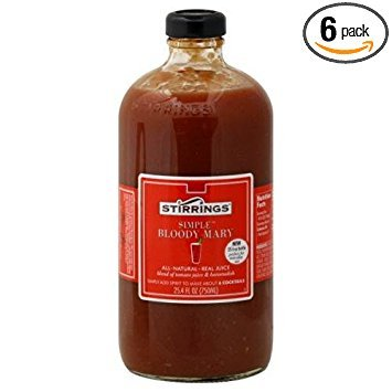 Stirrings Bloody Mary Cocktail Mixer, 750 Milliliter -- 6 per case.