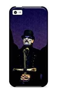 Awesome King Diamond Flip Case With Fashion Design For Iphone 5c