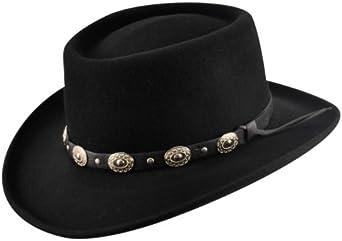 Gambler Hat Black Eddy Bros