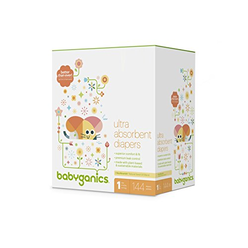 Babyganics Ultra Absorbent Diapers