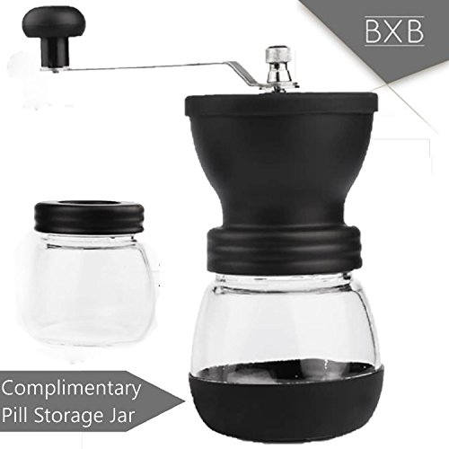 BXB Multiple Pill Crushing Hand-Held Pill Grinder + Extra Pill Container | Mini Pulverizer to Crush Tablets into Fine Powder for People Who Can't Swallow Medicine, Children, Pets | Portable by SHOPBXB