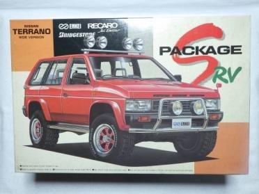 アオシマ 1/24 SパッケージRVシリーズ 日産 テラノ WIDE VERSION NISSAN TERRANO SPACKAGE RVの商品画像