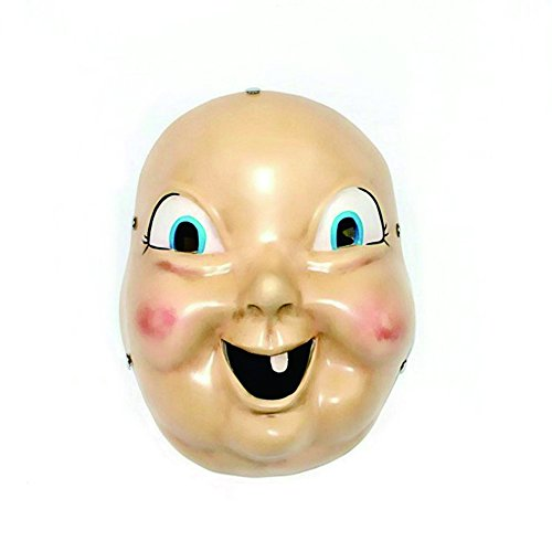 Devon's Home Happy Death Day Baby Mask Cosplay Costume Props Halloween Scary Mask -