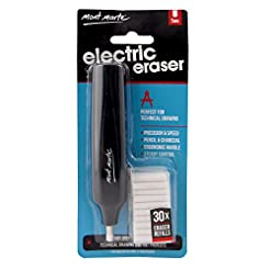 Mont Marte Electric Eraser, Includes 30 ...