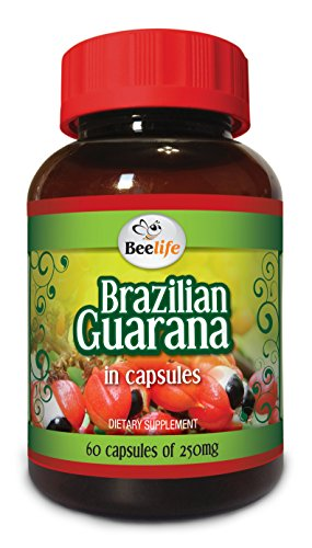 Brazilian Guarana 250mg 60 Caps product image