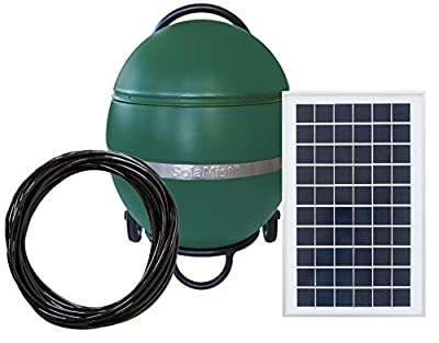 SolaMist - Pest Control Misting System That's Non-Toxic & Solar Powered - Automatically Kills Mosquitoes & Other Outdoor Bugs - Mosquito Misting System with Mobile-App to Start & Schedule Sprays
