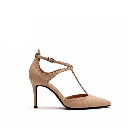 personalità alti profonda scarpa lavoro scarpe bocca tacco Onorevoli da sexy poco partito b sandali ammenda FLYRCX tacchi UwYgFqCY