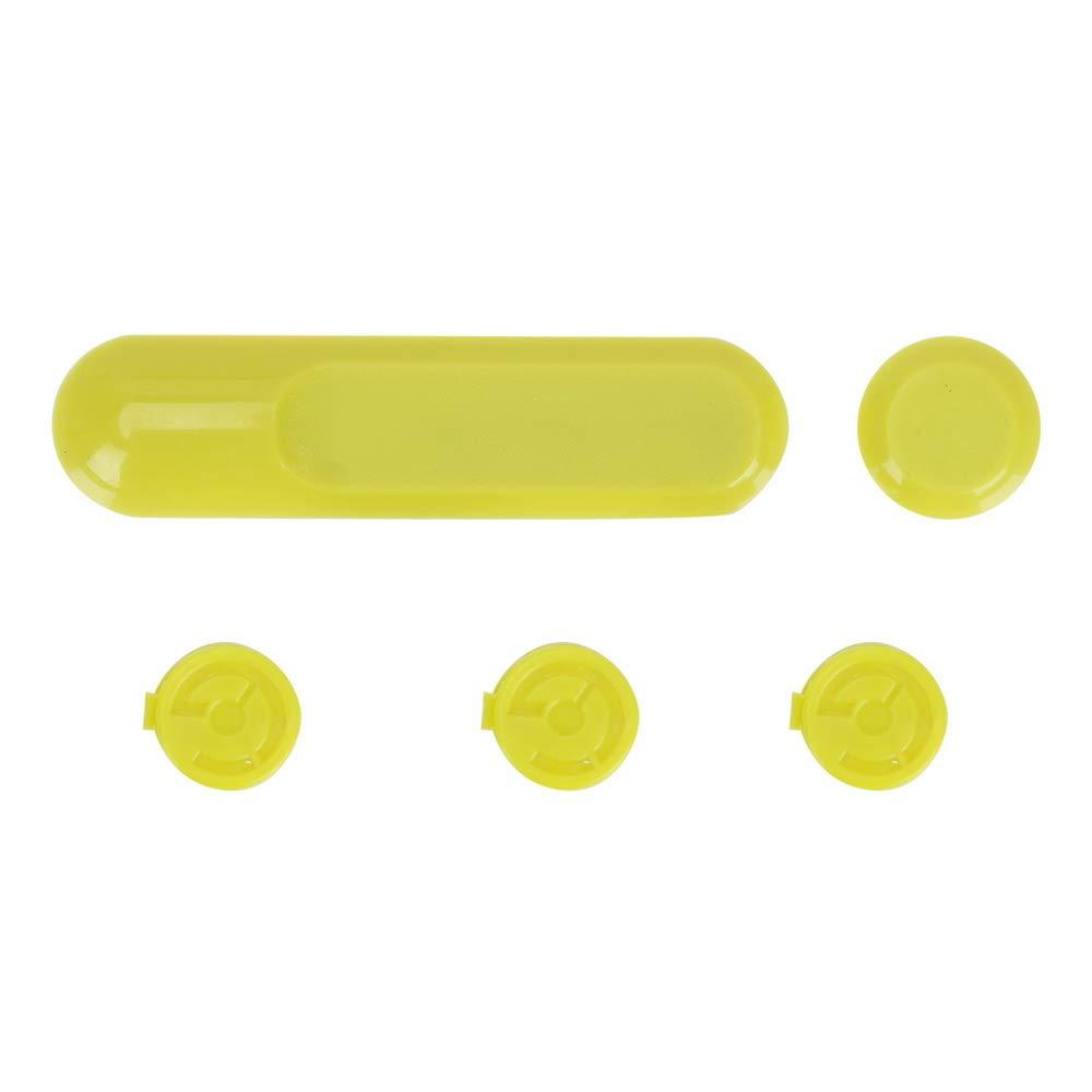 Sencillos frascos de cristal para bolas de algod/ón y m/ás mDesign Juego de 2 algodoneros con tapa Pr/áctico frasco transparente para discos de algod/ón y bastoncillos gris ceniza//plateado
