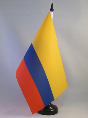 AZ FLAG Bandera de Mesa de Colombia 21x14cm - BANDERINA de ...