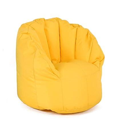 Amazon.com: MUBBS Bean Bag Sofa Chair Lazy Sofa Bed High ...