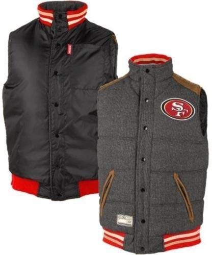G-III Sports San Francisco 49ers Legacy Button-Up Reversible Vest - NFL  Football d091842a8