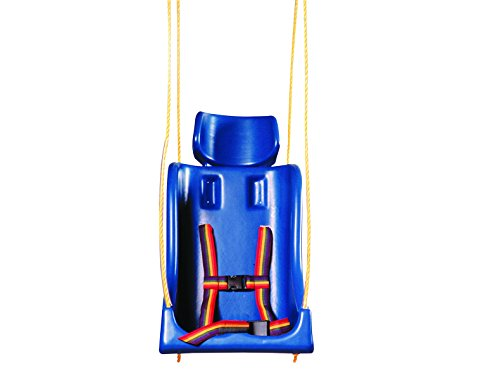 Full Support Swing Seat - Skillbuilders 30-1594 Full Support Swing Seat without Pommel, Chain, Medium (Teenager)