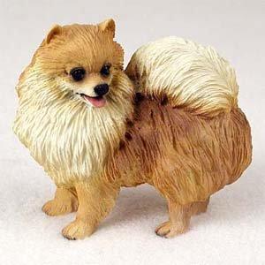 Amazon Com Pomeranian Figurine Gift For Dog Lovers Home Kitchen