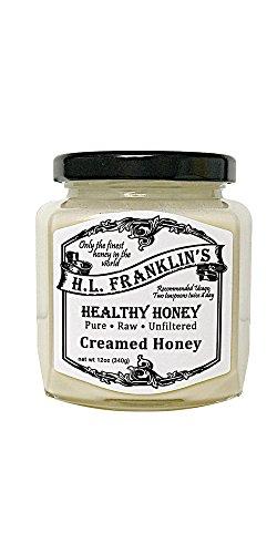 - H.L. Franklin's Healthy Honey, Creamed Honey (12oz)