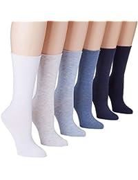Roll-Top Trouser Socks 6-Pack