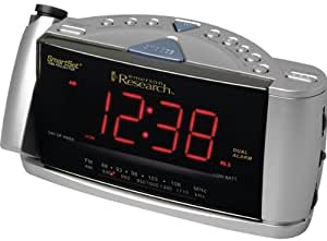 emerson cks3516 smartset dual alarm clock radio with time projection system. Black Bedroom Furniture Sets. Home Design Ideas