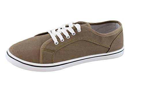 Zapatillas Sintético Marrón brandsseller Material Mujer para de Marrón PwgqdO