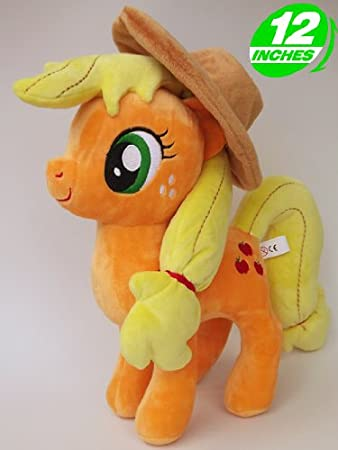 Amazon.com: MON PETIT PONEY / MY LITTLE PONY - PELUCHE APPLEJACK 30 cm: Toys & Games