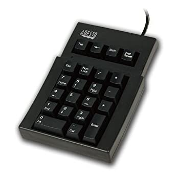 ADESSO AKP-220B Adesso 22 Key Mechanical USB Numeric Keypad - USB and PS/2