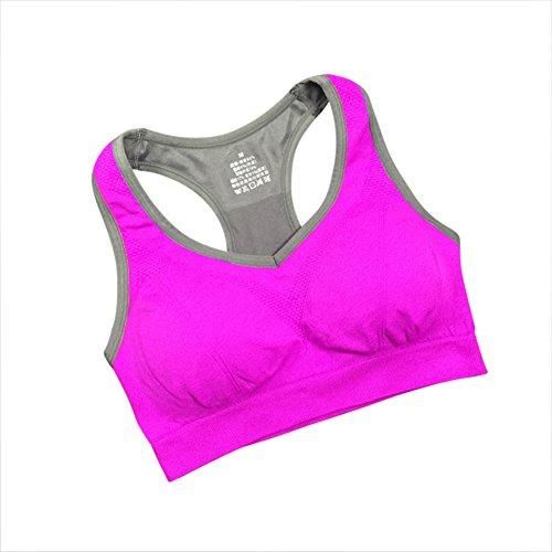 9b4b1c0b8de1e Femme Soutien-gorge de Sport Sous-vêtements Bra Brassière pour jogging Yoga  Gym Fitness