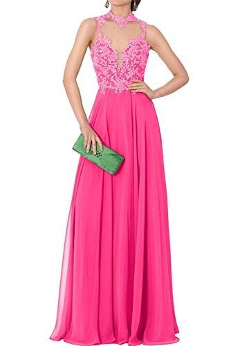 Damen Abschlussballkleider Langes Marie Spitze Braut Pink Abendkleider Partykleider Ballkleider La 2 40xqAEI4w