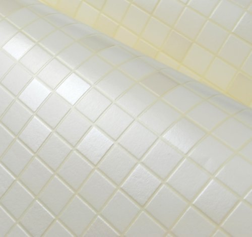 hdc-117-peel-stick-vinyl-white-color-wallpaper-bathroom-waterproof-self-adhesive-mosaic-pattern-wall