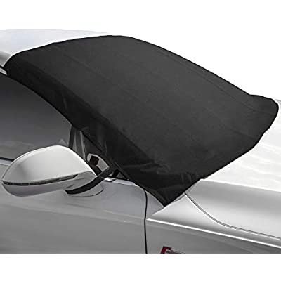 Motorup America Winshield Snow Cover and Sunshade Protector Fits Select Vehicles Car Truck Van SUV: Automotive