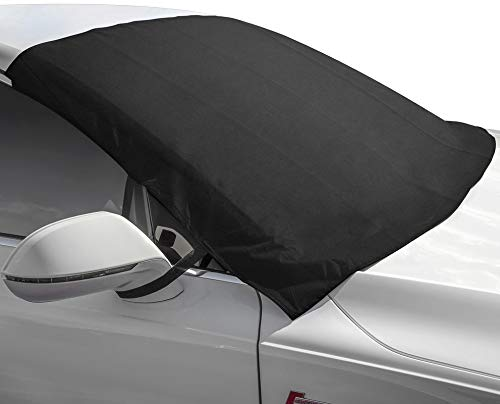 (Motorup America Winshield Snow Cover and Sunshade Protector Fits Select Vehicles Car Truck Van)