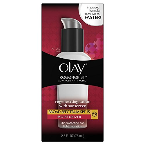 Face Moisturizer by Olay Regenerist Enhancing UV Lotion Adva