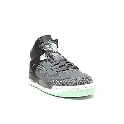 7ec55849d09537 NIKE Jordan Spizike GG Mens Basketball-Shoes 535712-015 9Y - Black Mint  Foam-Dark Grey-White