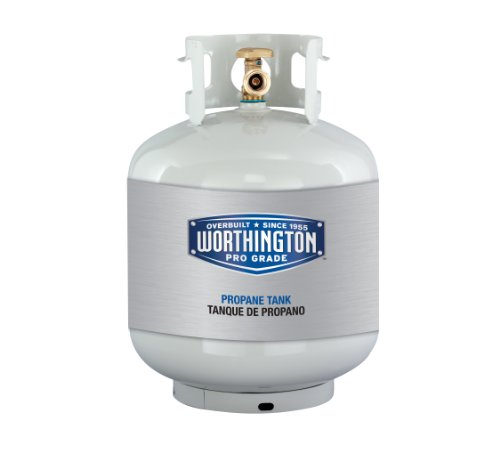 Worthington 303955 20-Pound Steel Propane Cylinder With Type 1 With Overflow Prevention (Propane Tank Paint)