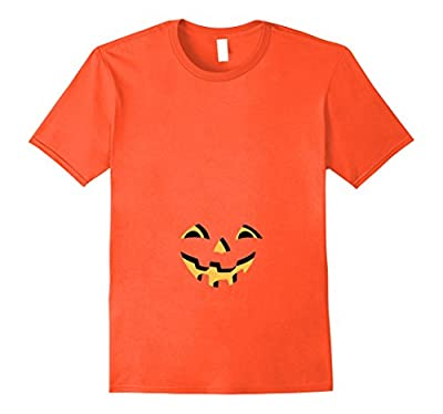 Pregnant Pumpkin Halloween T for Maternity and Beer Bellies