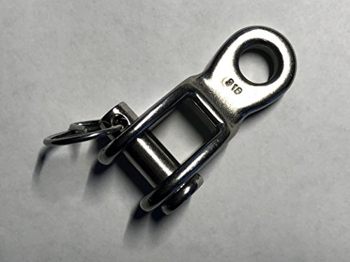 2 Pieces Stainless Steel 316 Rigging Toggle 5/16
