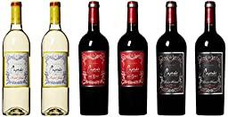 Cupcake Vineyards Red & White Blends Collection Mixed Pack, 6 x 750 mL