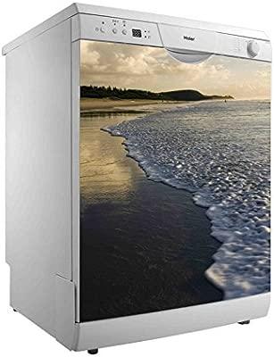 Vinilo para Lavavajillas Playa nublada | Varias Medidas 40 x ...