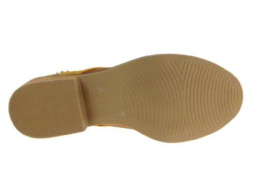 Quincid Womens Vinci-22 snake Textured 2-tone Laser Gesneden Herenkleding Oxfords Schoenen Roest / Slang