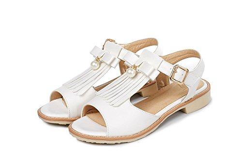white Ballerine Sconosciuto 35 Bianco 1to9 Donna Mjs03598 aEvxrq1wXv